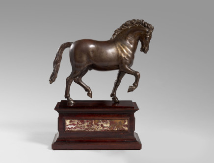 Bronze Horse after a Model by Giambologna, North Italy, 17th Century