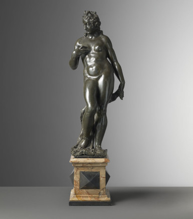 Francesco Segala, Pair of Bronze Figures: Mars and Venus, 16th Century