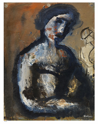 Mario Sironi, Female figure (also known as Medea), 1953 circa