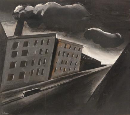Mario Sironi, Urban landscape, 1925