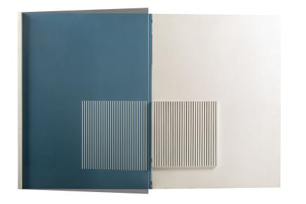 Agostino Ferrari, Pagina blu, 1972