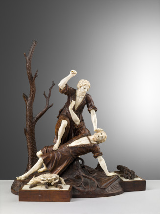 Matthias Kolb, Cain And Abel, mid-18th Century