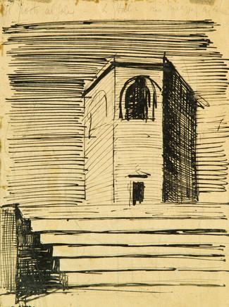 Mario Sironi, Tower, 1921 circa