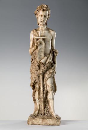 Alceo Dossena, St John the Baptist