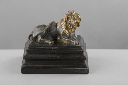 Bronze Figure of a Lion, Northern Europe, 18th Century