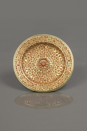 Trapani, Circular Tray, First half of the 17th century