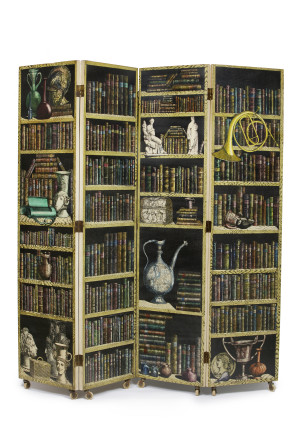 Piero Fornasetti, Folding Screen, 1972