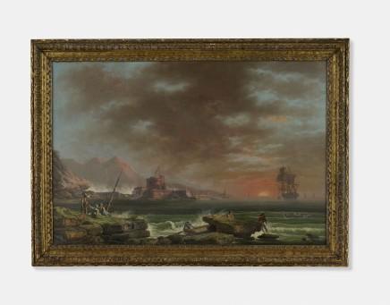 Francesco Fidanza, Seascape, Late 18th Century