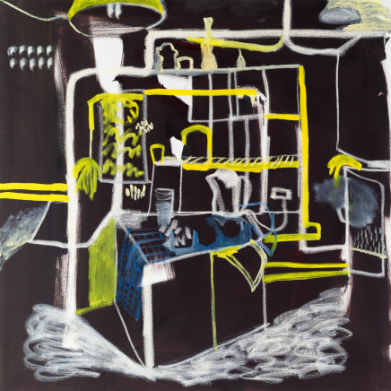 Katie Sollohub, Painting is a Strange Business, 2014