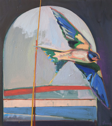 Charlotte Evans, Swallow, 2017