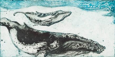 Marion MacPhee, Humpback and Calf, 2013