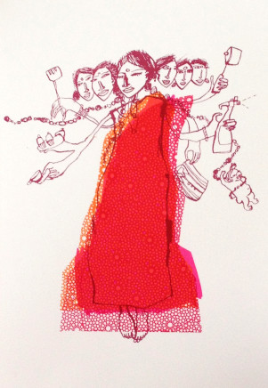 Chitra Merchant, Domestic Goddess, 2016