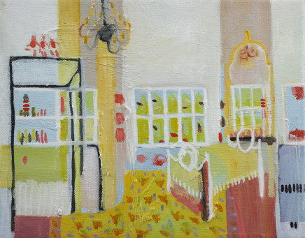 Katie Sollohub, Mirrors and Chandeliers, 2012