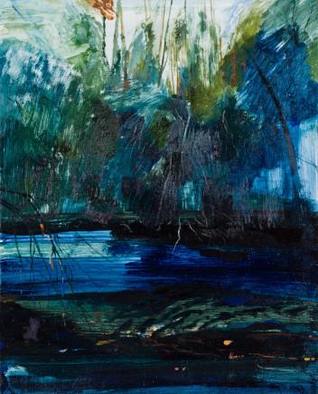 Calum McClure, Dark Blue Water, 2019