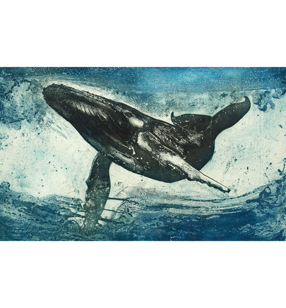 Marion MacPhee, Humpback Whale, 2016