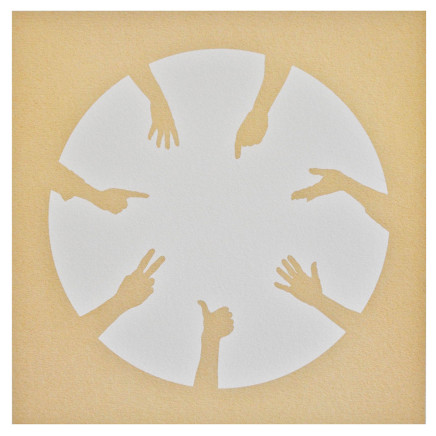 Nicola Green, Circle of Hands II, 2013