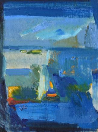 Calum McClure, White Cliffs Study