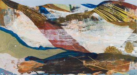 John Harmer, Yellow Striped Hill, 2018