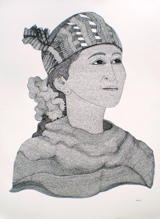 Irene Lees, Aung San Suu Kyi II, by Irene Lees, 2016