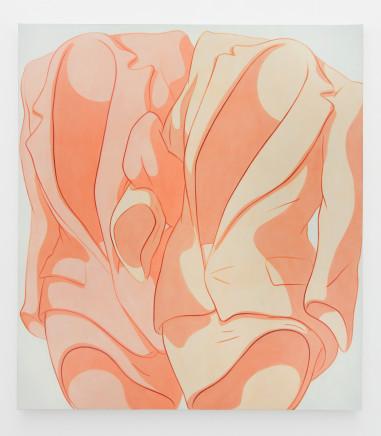 Ivy Haldeman, Locked Sleeves, Lean Out (Pink, Jaune Brilliant) 环住的袖口,倾斜(粉色,嫩黄), 2019