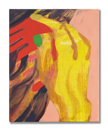 Sarah Faux, Untitled (comb) 无题 (梳发), 2018