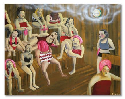 Huang Hai-Hsin 黄海欣, Da-an Sauna House 大安桑拿, 2016