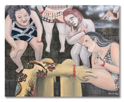 Huang Hai-Hsin 黄海欣, Da-an Sauna House 大安桑拿, 2018