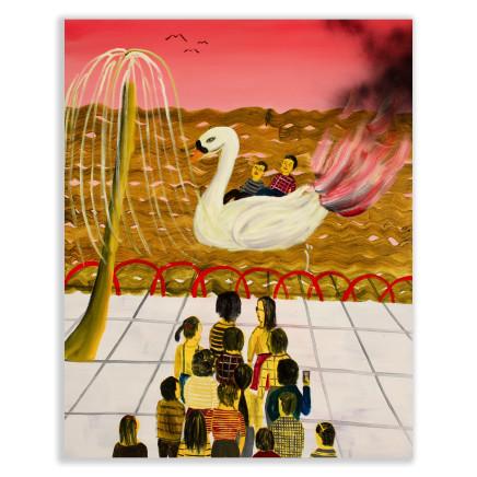 Huang Hai-Hsin 黄海欣, Swan Lake #2 天鹅湖#2, 2015