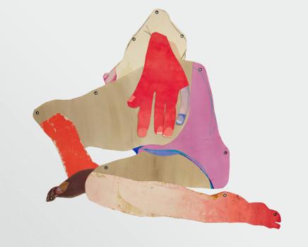 Sarah Faux, Her twisting, 2019