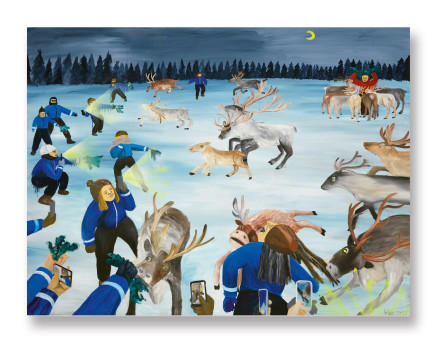 Huang Hai-Hsin 黄海欣, I've Been To North Pole 我去了北極, 2017
