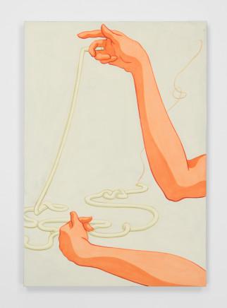 Ivy Haldeman, Long Cigarette, Knot 长烟,结, 2018