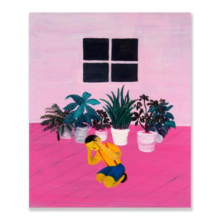 Huang Hai-Hsin 黄海欣, Untitled Pink 粉红色无题, 2013