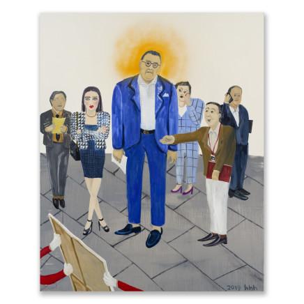 Huang Hai-Hsin 黄海欣, Art Basel (The Holy Collector) 巴塞尔艺术展 (聖藏家), 2019