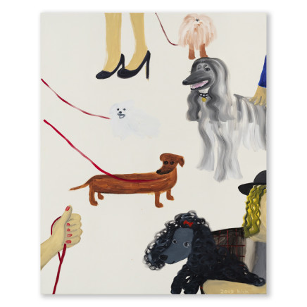 Huang Hai-Hsin 黄海欣, Art Basel (Dog) 巴塞尔艺术展 (狗), 2019