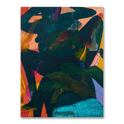Sarah Faux, Green and Deep 深/绿, 2017