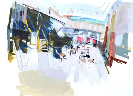 Colin Taylor MAFA, Royal Exchange Theatre #2
