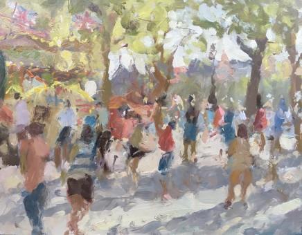 Adam Ralston MAFA, Southbank Holiday Monday
