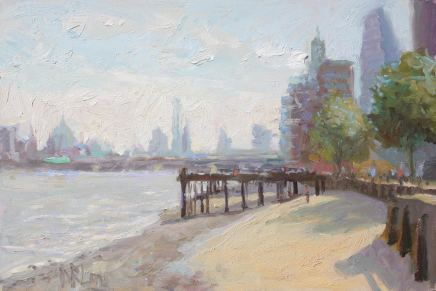 Norman Long MAFA, The City From Southbank
