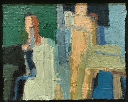 Arthur Neal NEAC, Figures at the Pool