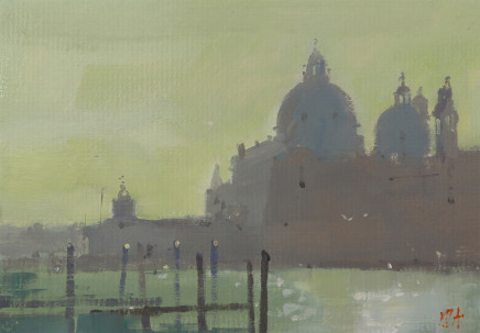 Michael Ashcroft MAFA, Monets View 3