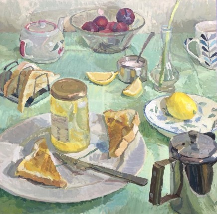 Adam Ralston MAFA, Lemons & Plums, 2018