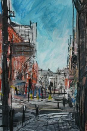 Matthew Thompson, Buses, Portland Street, 2019
