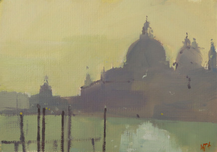 Michael Ashcroft MAFA, Monets View 1