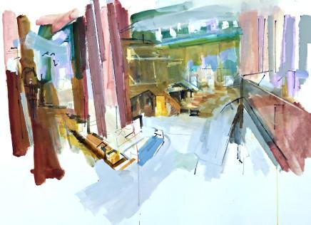 Colin Taylor MAFA, Royal Exchange Theatre #12