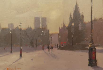 Michael Ashcroft MAFA, Hazy Days, Alberts Square, Manchester