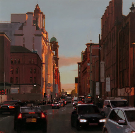 Michael Ashcroft MAFA, Sundown, Oxford Road, Manchester