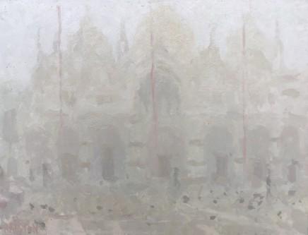 Adam Ralston MAFA, St. Marks Basilica, Early Morning Mist