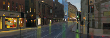 Michael Ashcroft MAFA, Early Start, Cross Street, 2018