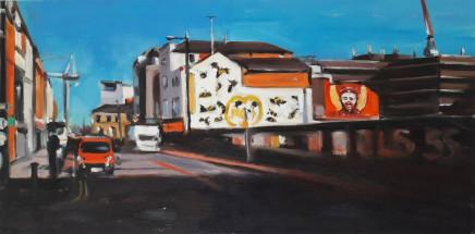 Liam Spencer, Murals