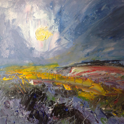 Richard Clare, Pale Sunset Across the Moors